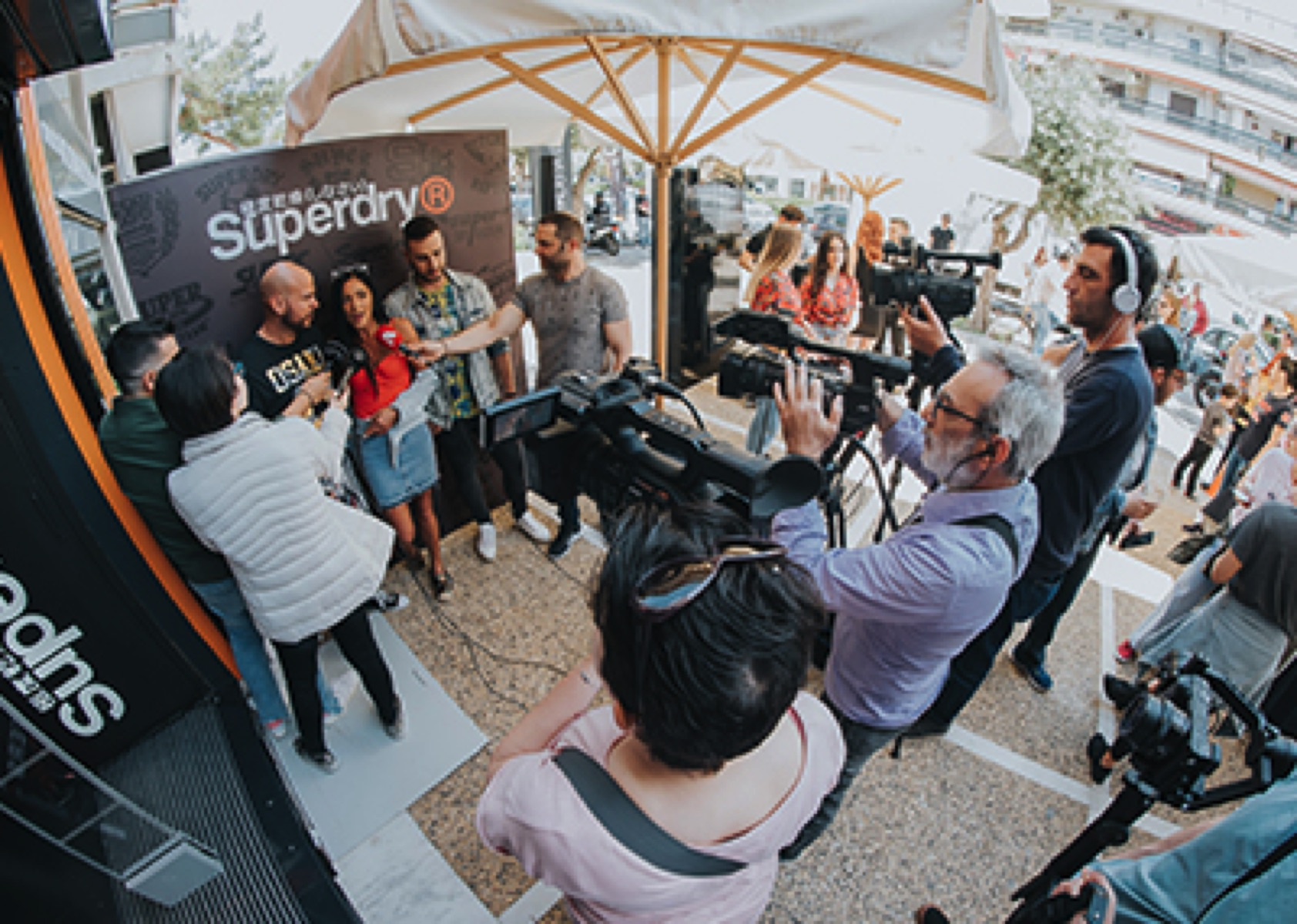 Superdry Store Glyfada  Opening Party