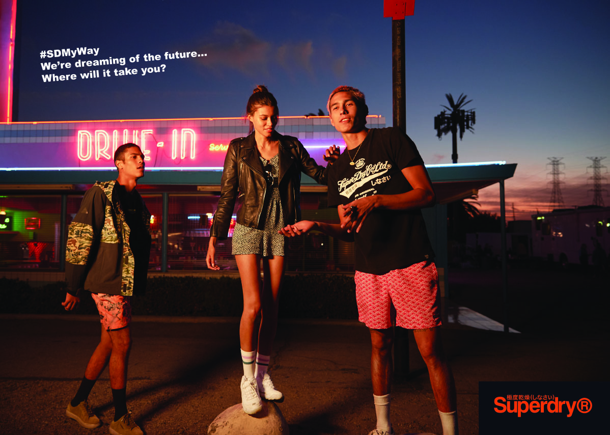 SD MY WAY // Superdry SS20 Collection